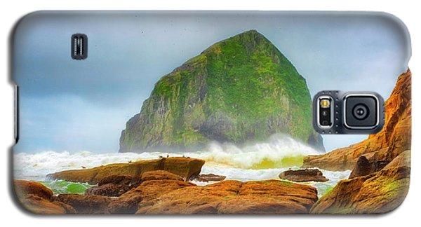 Coastal Storm At Haystack Galaxy S5 Case