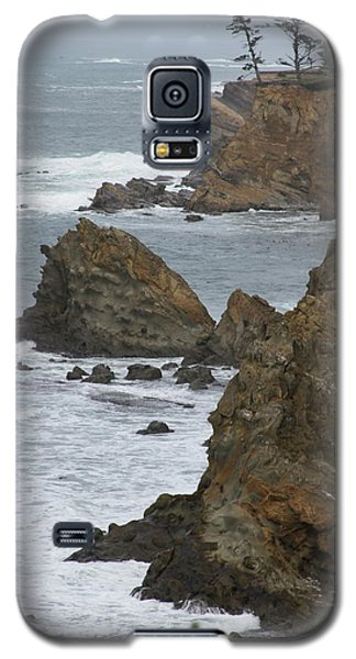 Coastal Storm Galaxy S5 Case by Laddie Halupa