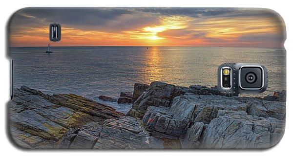 Coastal Sunrise On The Cliffs Galaxy S5 Case