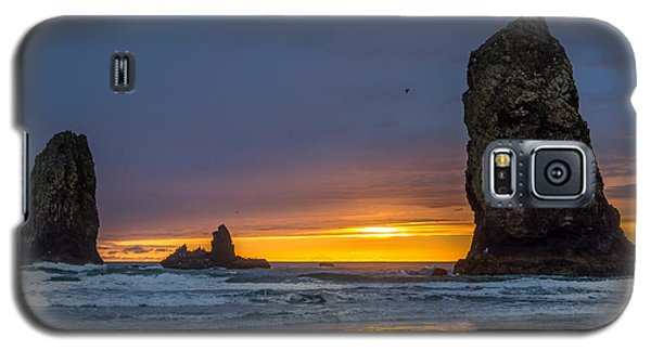 Coastal Sunset Galaxy S5 Case by Jerry Cahill