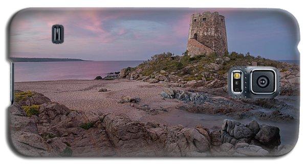 Coastal Tower At Sunset Galaxy S5 Case