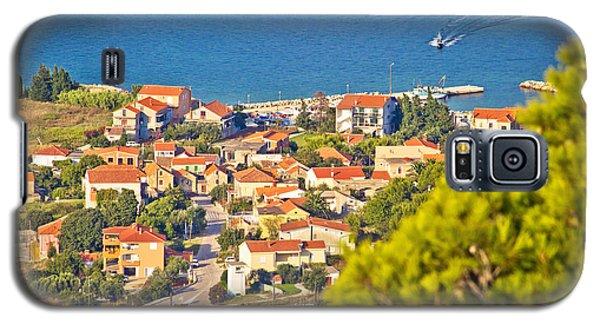 Coastal Village On Island Of Pasman Galaxy S5 Case