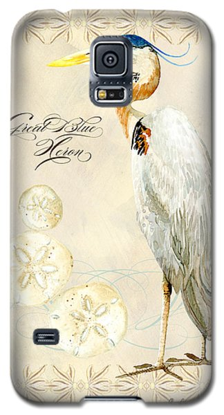 Coastal Waterways - Great Blue Heron Galaxy S5 Case