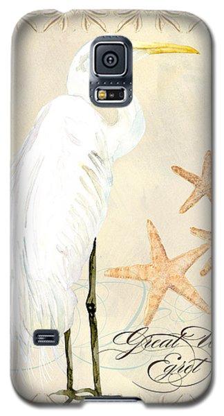 Coastal Waterways - Great White Egret Galaxy S5 Case