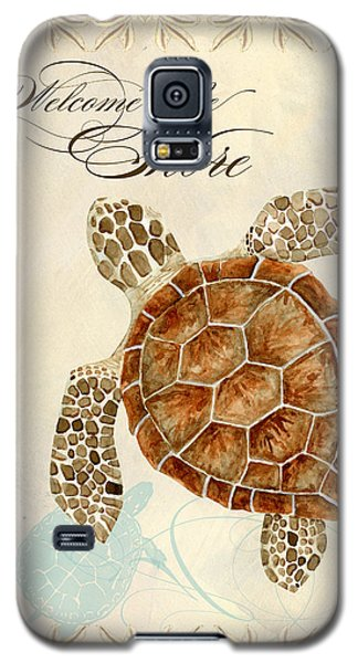 Coastal Waterways - Green Sea Turtle Galaxy S5 Case