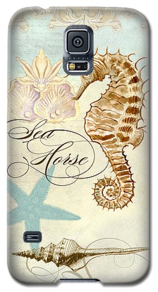 Coastal Waterways - Seahorse Rectangle 2 Galaxy S5 Case