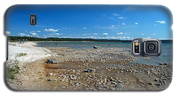 Coastline Of Lake Michigan  Near Petoskey State Park - Little Traverse Bay Galaxy S5 Case
