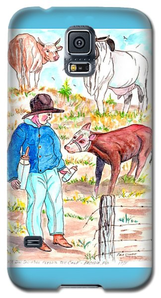 Coaxing The Herd Home Galaxy S5 Case