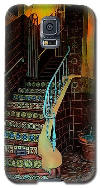 Cobblestone And Tile Galaxy S5 Case
