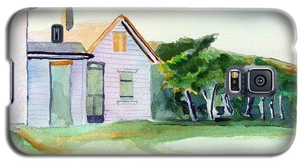 Cobb's House After Edward Hopper Galaxy S5 Case