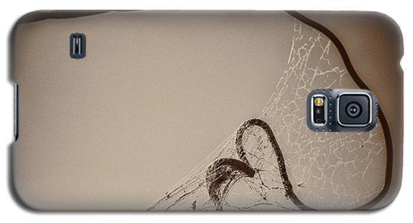 Cobwebs On My Heart Galaxy S5 Case by Mary Hone