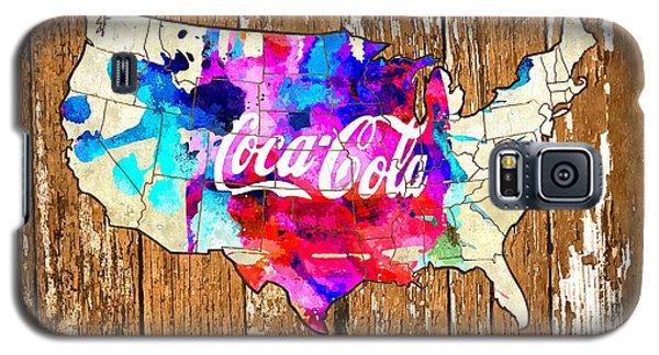Coca Cola America Galaxy S5 Case