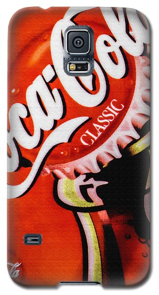 Coca Cola Classic Galaxy S5 Case