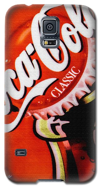 Coca Cola Classic Galaxy S5 Case