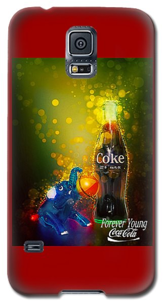 Coca-cola Forever Young 3 Galaxy S5 Case
