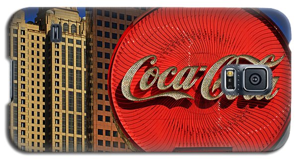 Coca Cola Neon Sign Atlanta Galaxy S5 Case