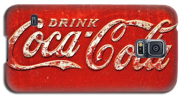 Coca Cola Rustic Galaxy S5 Case by Stephen Anderson