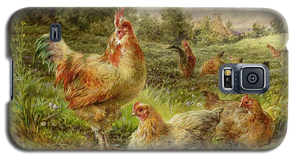Cochin China Fowls Galaxy S5 Case by George Hickin