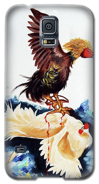 Cock Fighting Galaxy S5 Case