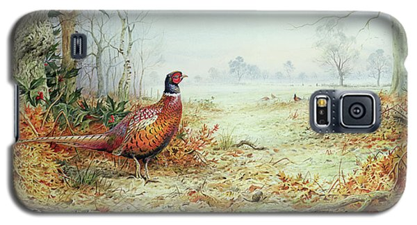 Cock Pheasant  Galaxy S5 Case by Carl Donner