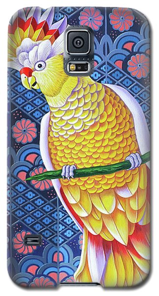 Cockatoo Galaxy S5 Case by Jane Tattersfield