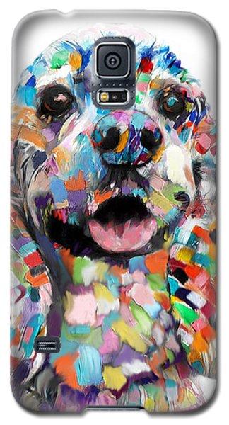 Cocker Spaniel Head Galaxy S5 Case