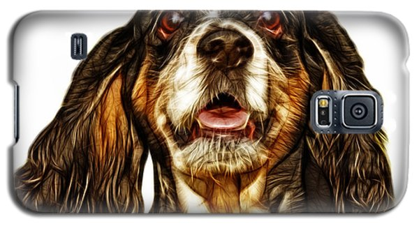 Cocker Spaniel Pop Art - 8249 - Wb Galaxy S5 Case