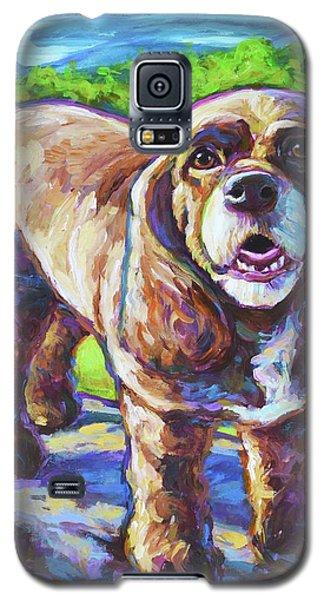 Cocker Spaniel  Galaxy S5 Case by Robert Phelps