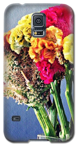 Galaxy S5 Case featuring the photograph Cockscomb Bouquet 2 by Sarah Loft