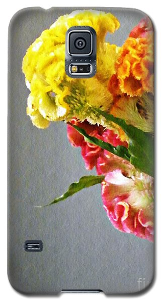 Galaxy S5 Case featuring the photograph Cockscomb Bouquet 4 by Sarah Loft