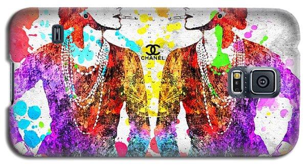 Coco Chanel Grunge 2 Galaxy S5 Case