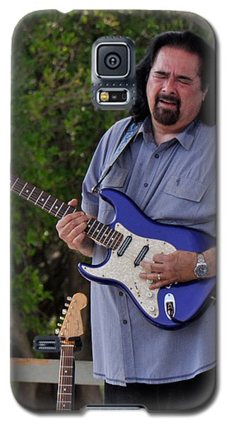 Coco Montoya And His Ocean Blue Fender American Standard Stratoc Galaxy S5 Case