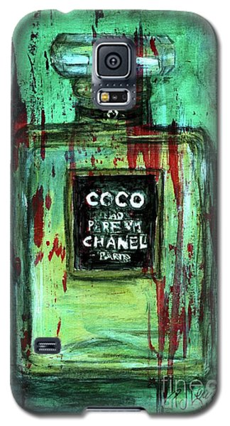Galaxy S5 Case featuring the painting Coco Potion by P J Lewis