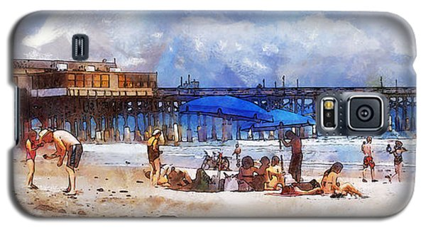 Cocoa Beach Pier Galaxy S5 Case by Francesa Miller