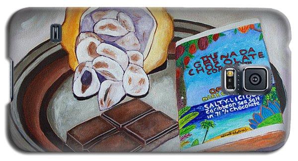 Cocoa Pod To Chocolate Bar Galaxy S5 Case