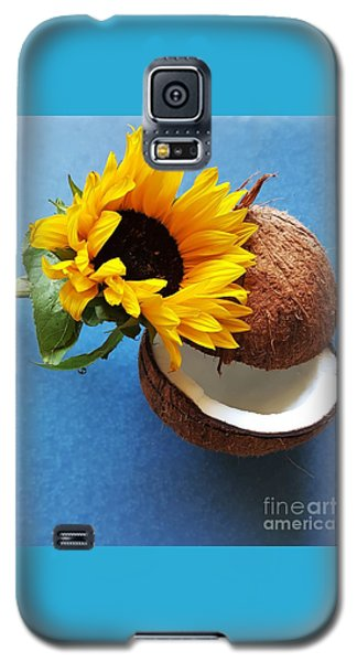 Coconut And Sunflower Harmony Galaxy S5 Case