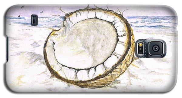 Coconut Island Galaxy S5 Case by Teresa White