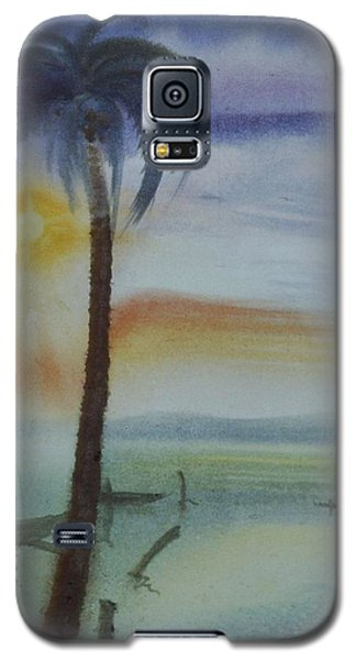 Coconut Palm Galaxy S5 Case