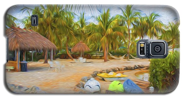 Coconut Palms Inn Beach Galaxy S5 Case