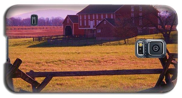Codori Barn Gettysburg Galaxy S5 Case by Eric  Schiabor