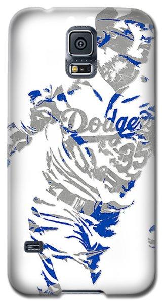 Cody Bellinger Los Angeles Dodgers Pixel Art 1 Galaxy S5 Case
