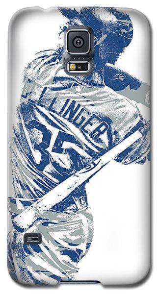 Cody Bellinger Los Angeles Dodgers Pixel Art 10 Galaxy S5 Case