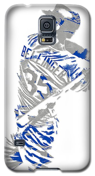 Cody Bellinger Los Angeles Dodgers Pixel Art 2 Galaxy S5 Case