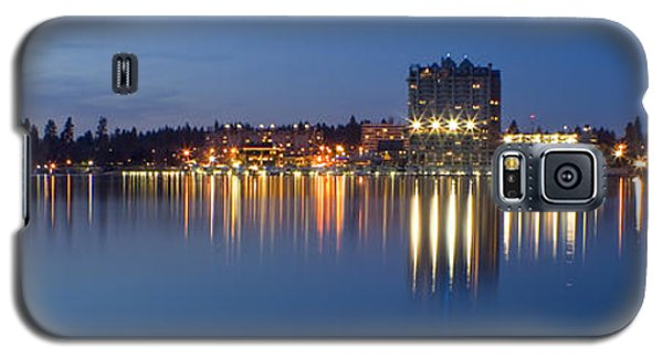 Coeur D Alene Night Skyline Galaxy S5 Case