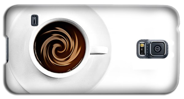 Galaxy S5 Case featuring the photograph Coffee And Cream by Gert Lavsen