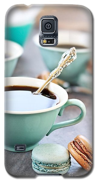 Coffee And Macarons Galaxy S5 Case