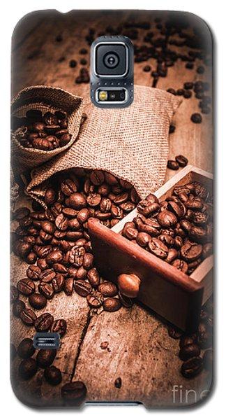 Coffee Bean Art Galaxy S5 Case