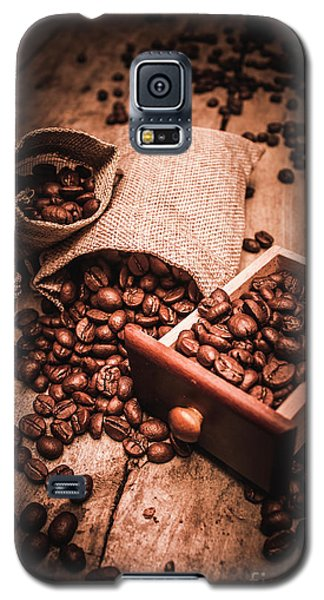 Coffee Bean Art Galaxy S5 Case