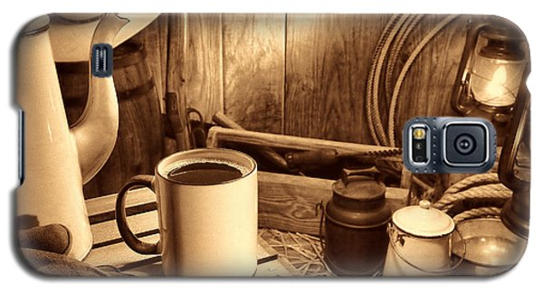Coffee Break At The Chuck Wagon Galaxy S5 Case