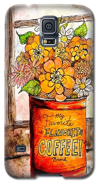 Coffee Can Bouquet  Galaxy S5 Case
